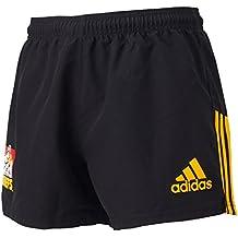 adidas Pantalón Corto hogar/de rugby Chiefs Negro negro Talla:XL