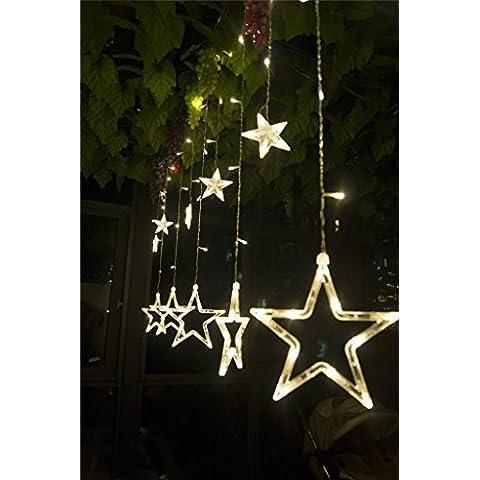 Impermeabile LED tenda luce 12-Star a forma