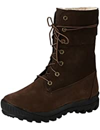Timberland Mount Holly FTW_Woodhaven Fleece Roll Down WP INS - Botas de cuero para mujer