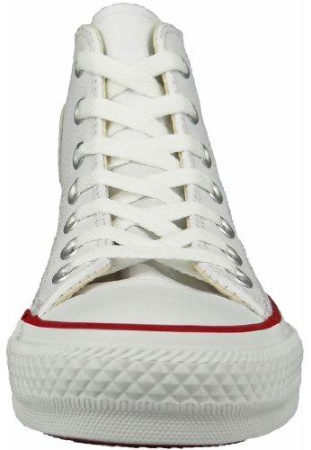 Converse mixte adulte pour homme CT Core Lea Hi Sneakers Blanc