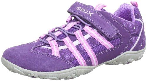 Geox J BETTER N J22C1N05022C8224, Mädchen Sneaker, Violett (PURPLE/PINK C8224), EU 34