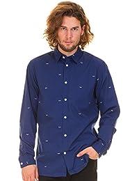 SELECTED HOMME Herren Hemd, blau