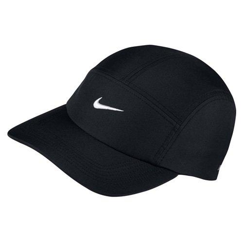 Nike Sportswear Heritage 86 Metal Swoosh Kappe, Black/(Metallic Silver), One Size