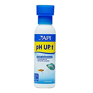 API pH UP Freshwater Aquarium Water pH Raising Solution 118 ml Bottle