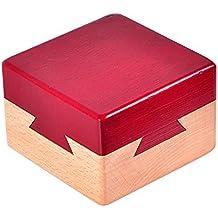 Juguetes Creativos, Zantec Caja secreta de madera Caja de regalo creativa para joyería escondida en
