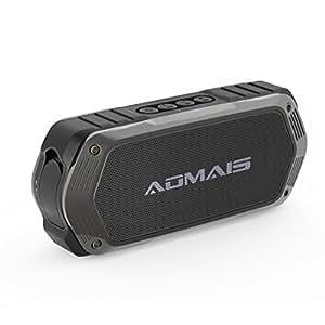 Bluetooth Lautsprecher, AOMAIS TOUGH Wassredicht IP67