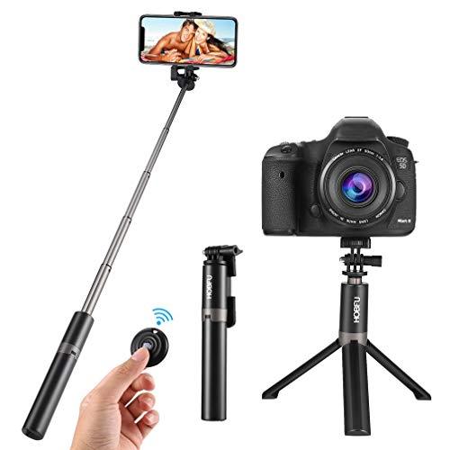 Multifunktionales / erweiterbares Drahtloses vertikales Mini-Selfie-Stativ, , mit Bluetooth-Fernbedienung, für iPhone / Samsung / Android-Smartphones, Gopros und kleine Kameras