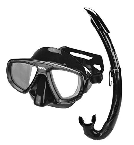 Seac Extreme Evo Kit de randonnée Aquatique Mixte Adulte, Noir