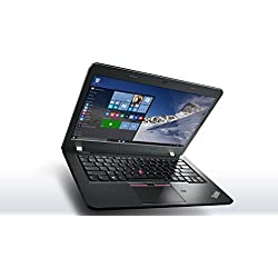 Lenovo ThinkPad E460 20EUA00P00 14-inch Laptop(Core i5-6200U/4GB/1TB/DOS)