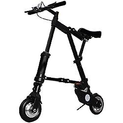 Scooter Eléctrico Bicicleta plegable , Black, M