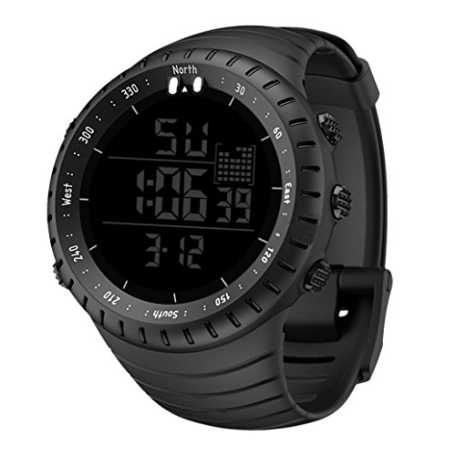 Hffan Herren uhren 30m Wasserdichte Militär Armbanduhr Sport-Uhren  Verfügbar in der Nacht Original Quarzwerk e8869b036a