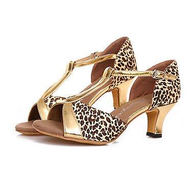 Chaussures De Danse-non-personnalisable-mesdames-amérique Latine  Salsa-square- ...