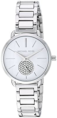 Michael Kors Relojes para Mujer Portia Reloj de Acero Inoxidable