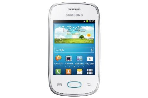 Samsung Galaxy Pocket Neo S5310 Smartphone (7,6 cm (3 Zoll) Touchscreen, 850MHz, 512MB RAM, 2 Megapixel Kamera, Android 4.1) keramik-weiß