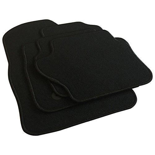 EUGAD AM7195p Autoteppich Auto Fußmatten Matten schwarz
