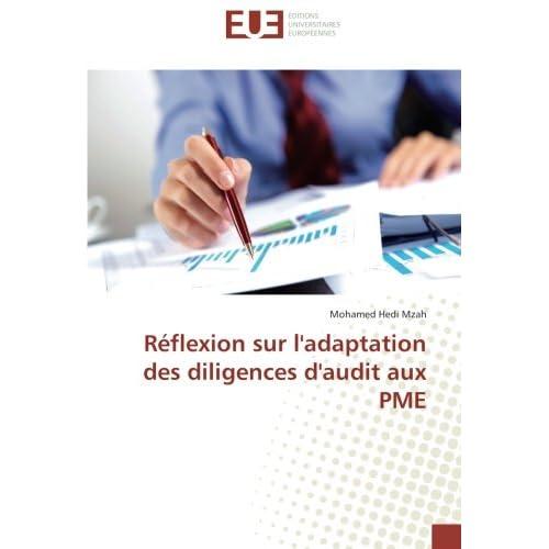 Reflexion sur l'adaptation des diligences d'audit aux PME