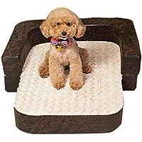 Cama perro Sofá Grande para Perros - Cama Indestructible para Mascotas, marrón, 100 ×