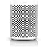 Sonos One SL All-In-One Smart Speaker (Kraftvoller WLAN Lautsprecher mit App-Steuerung und AirPlay 2 – Multiroom Speaker für unbegrenztes Musikstreaming) weiß, ohne Sprachsteuerung