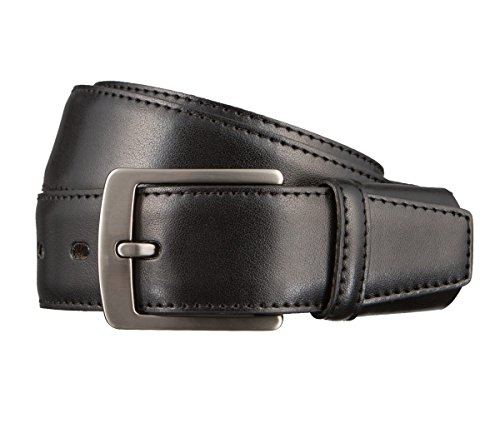 LLOYD Leder Gürtel Schwarz und Braun, Farbe:Schwarztöne;Länge:90 cm