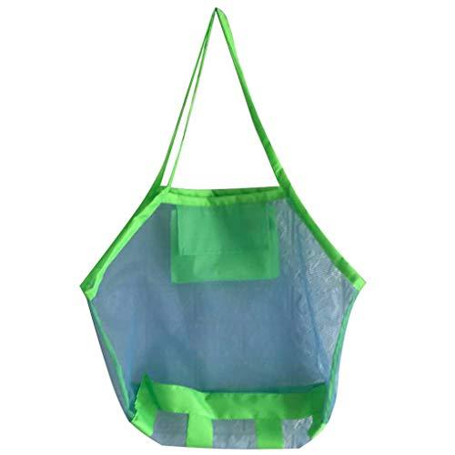 Florallive Multi Size Faltbare Mesh-Schultertasche Einkaufs Strand-Spielzeug-Taschen-Handtaschen-Dame-Beutel-Badeanzug-Speicher-Organisator (Tragetaschen Winter-boots Für Frauen)
