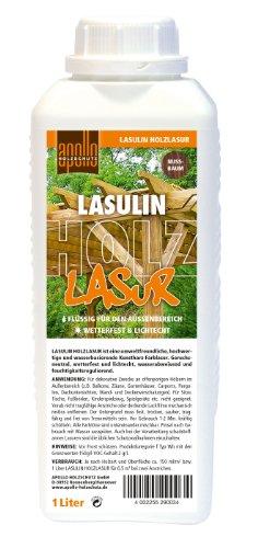Lasulin Holzlasur, 1L Nussbaum, Wetterfest
