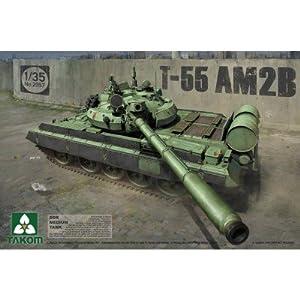 TAKOM 2057-Maqueta de DDR Medium Tank T de 55am2b