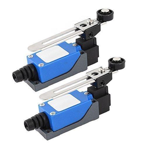 sourcingmapr-micro-interruttore-limitatoattivatore-con-braccio-a-rullo-girevole-in-plastica-ac-250v-