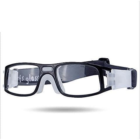 OPEL-R Gafas deportes al aire libre de baloncesto y fútbol, ventilación HD deportes gafas (unisex y material de la PC) , 1