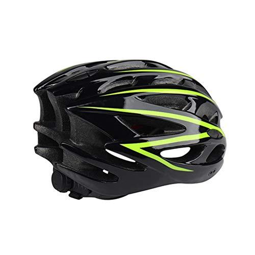 Fahrradhelm Erwachsene Reitausrüstung integrierte Form Mountain Road Fahrradhelm Motocross Helm einstellbar schwarz