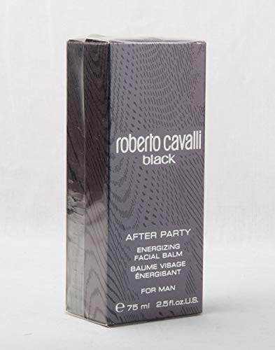 Roberto Cavalli Black for Man After Party Energizing Facial Balm 75 ml