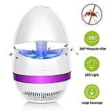 Sunnest Anti-Moustique Lampe (Version améliorée) LED, Piège à Mouche électrique,...