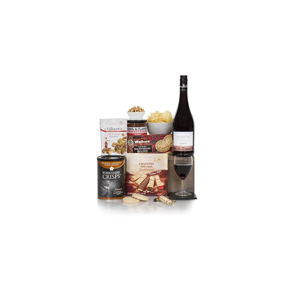 Red Wine Hamper For Him - The Perfect Gift Hamper - Men