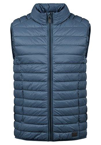 BLEND Nille Herren Steppweste mit hochabschließendem Kragen aus hochwertiger Materialqualität, Größe:XL, Farbe:Ensign Blue (70260)
