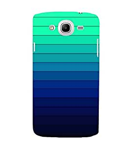 For Samsung Galaxy Mega 5.8 I9150 :: Samsung Galaxy Mega Duos I9152 stripes pattern, pattern, gradient, gradient pattern Designer Printed High Quality Smooth Matte Protective Mobile Pouch Back Case Cover by BUZZWORLD