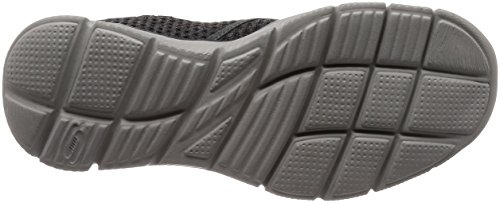 Skechers Equalizer-Slickster, Mokassins Homme Gris (Charcoal)