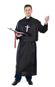 Bristol Novelty - Costume Da Prete Per Adulto