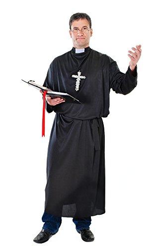 7 Priester Kostüm, Black, M ()