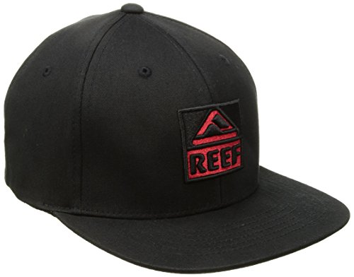 Reef Herren Kappe Classic Block Ii, Black, One Size