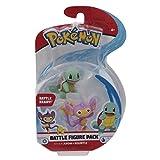 Giochi Preziosi Pokemon - Figuras de Aipom y Squirtle, 5 x 7 cm