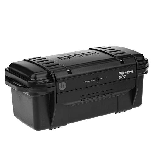 Dilwe Survival Aufbewahrungsbox, 3 Arten Solide Outdoor Shockproof Druckfeste Wasserdicht Überleben Box Container Lagerung Luftdichten Fall(C:200 * 98 * 82mm)