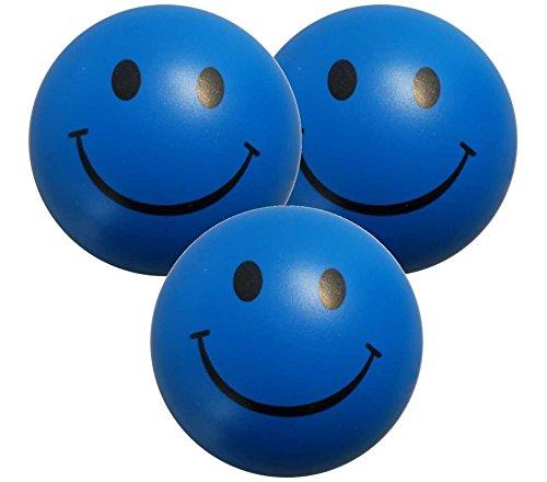 e – Smiley Stress Ball - Antistressball , Knautschball – Kleiner Ball, Grosse Stresserleichterung (Smiley-bälle)