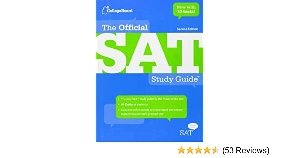 The Official Sat Study Guide Amazon The College Board