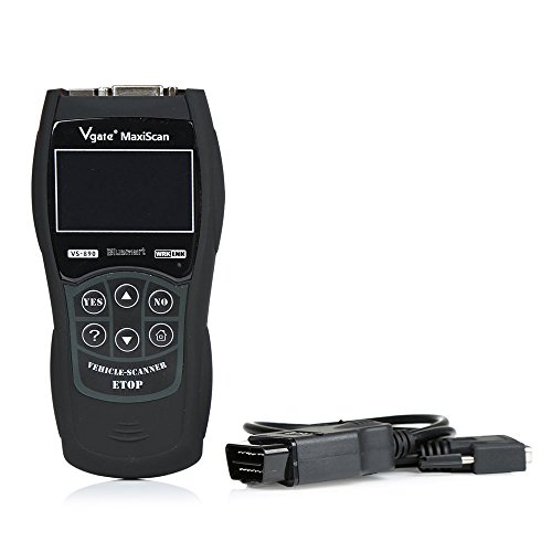 Preisvergleich Produktbild VGATE VS890 OBD2 Scanner Code Reader Universal Multi-language and Car Diagnostic Tool Scan Vgate MaxiScan VS890