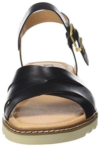 Pikolinos Damen Alcudia W1l Sandalen Schwarz (Black)