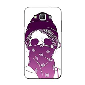 SCARF GIRL BACK COVER FOR SAMSUNG GRAND MAX