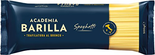 Barilla Academia Spaghetti Nudeln Pasta, 500 g Spaghetti