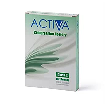 Activa Class 2 Below Knee Support Stockings 18 - 24 mmHg Sand Large
