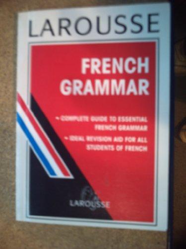 Larousse French Grammar