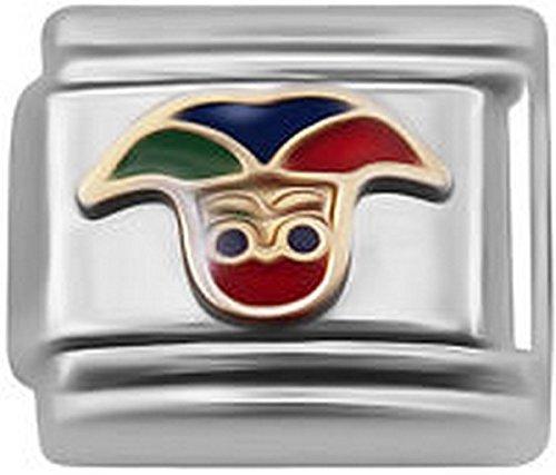 er für klassisches italienisches Nomination & Zoppini Charm-Armbänder (Jester Mädchen)