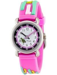 Cactus CAC-23-M05 - Reloj 0 infantil de cuarzo con correa rosa - sumergible a 10 metros